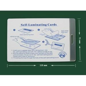 Self sealing laminating pouches 71x115mm meishuo self adhesive film 70mic we also can make any sizes against customers require reheart Choice Image